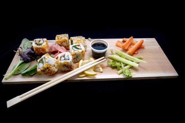 Un plat japonais