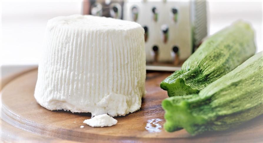 La ricotta peut se préparer d'après différents laits