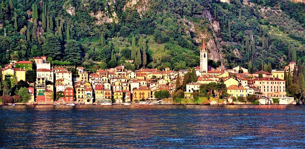 Une des villes de Lombardie en Italie