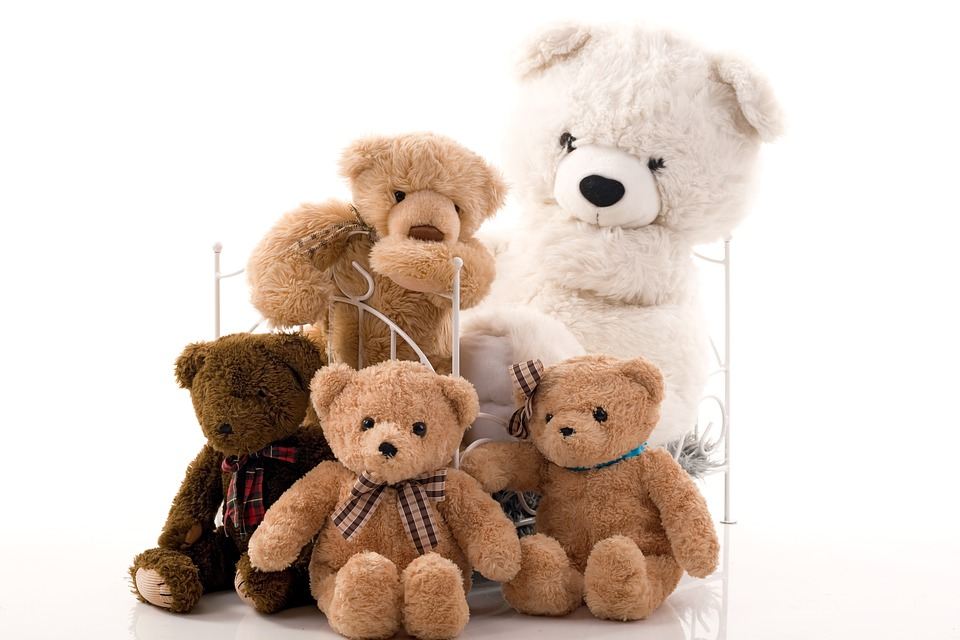 ours en peluches