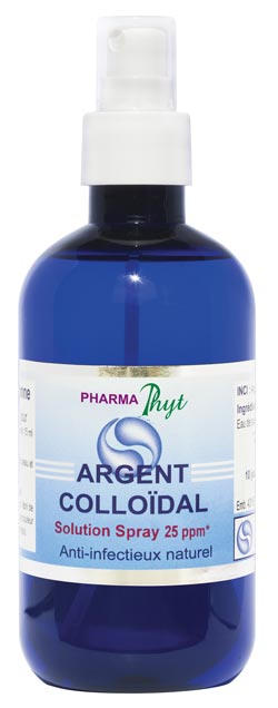 Argent Colloïdal en spray