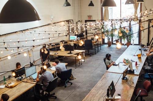 les esapces de coworking, idéal pour travailler